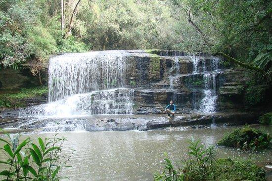 Prudentópolis, PR: Uma das cachoeiras
