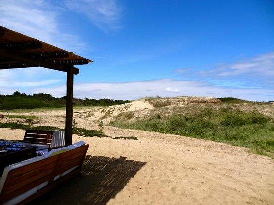 La Susana: View toward Jose Ignacio town