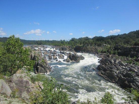 Great Falls Park: Great Falls Overlook