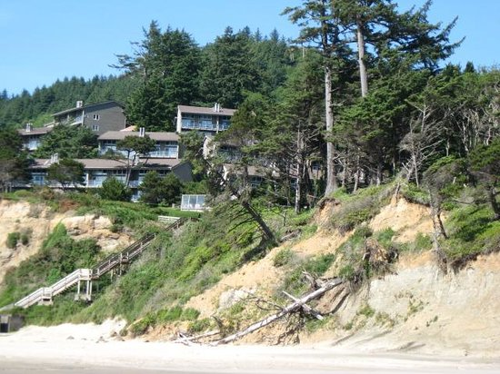 Inn at Otter Crest : View from beach