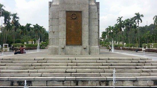 Asean Sculpture Garden: Tower at National Monument