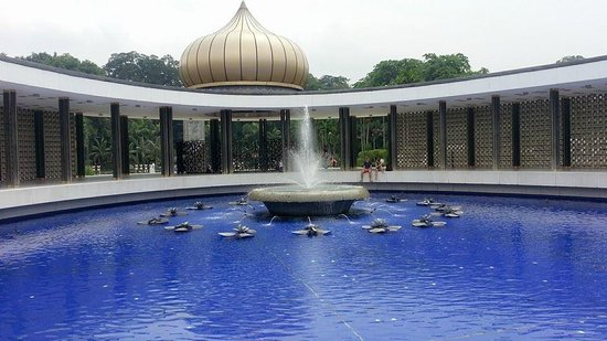 Asean Sculpture Garden: Fountain at National Monument