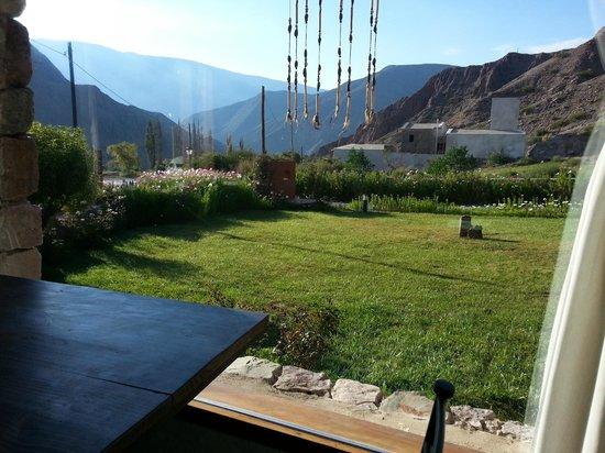 Huaira Huasi: Vista desde el salon de te
