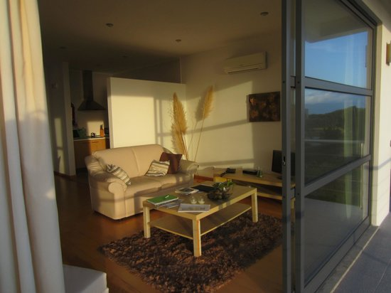 Cantinho das Buganvilias Resort: Living area