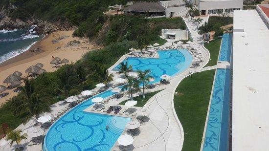 Secrets Huatulco Resort & Spa : Pool