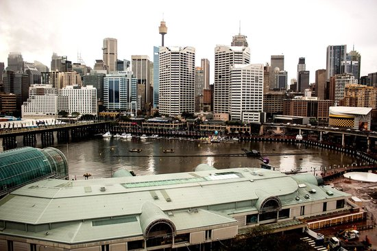 Novotel Sydney on Darling Harbour : View from room