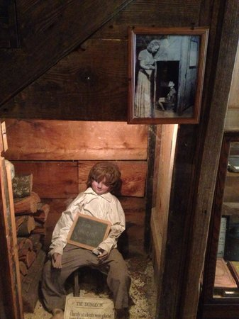 Oldest Wooden Schoolhouse: Hard to believe this was acceptable!