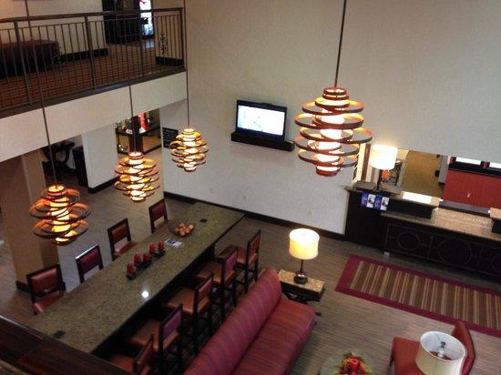 Hampton Inn Clarksville: lobby