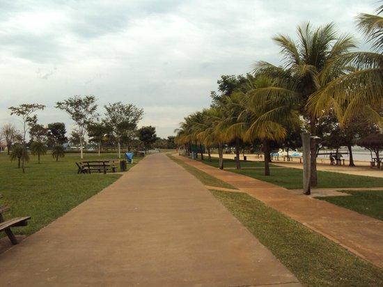 Prainha de Sertãozinho - Pista de caminhada e afins