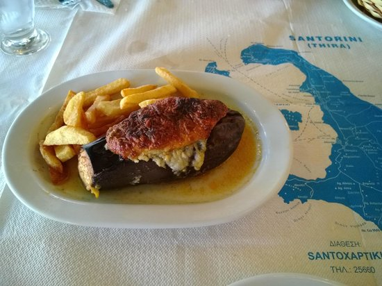 Taverna - Skaramagas : Moussaka
