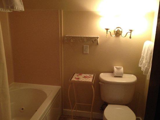 11th Avenue Inn Bed and Breakfast: Garnet room bathroom