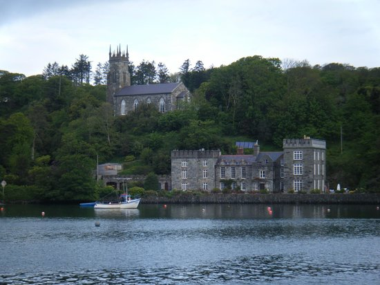 The Castle Townshend: the view from the sea