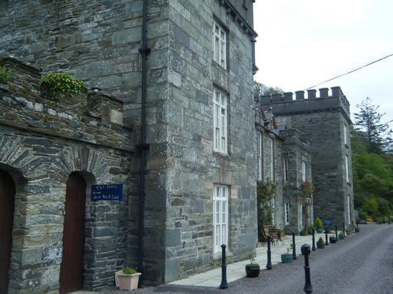 The Castle Townshend: front of the castle