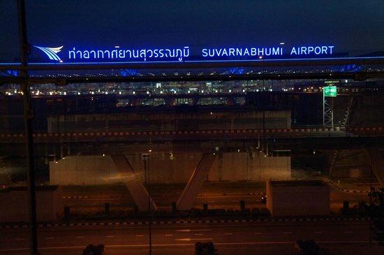 Novotel Bangkok Suvarnabhumi Airport : View from lobby