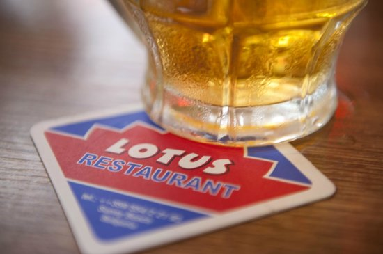 Lotus Resturant : We served here always Ice- Cold Lager