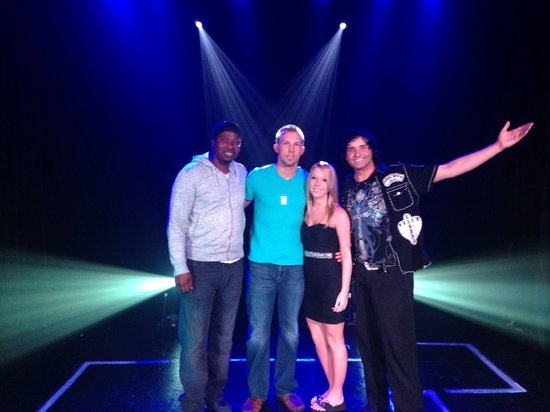 Jeremy Allen's Grand Illusions : Jeremy and Super Bowl Champ Tyrone Williams
