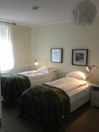 Reykjavik Residence Hotel : Two Single Beds in One of Three Rooms