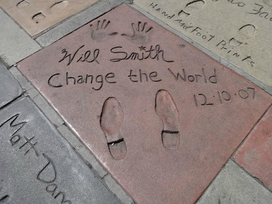 Adventure Photo Tours : Walk of Fame-Will Smith