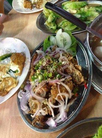 Yee Lin Restaurant: soft shell crab