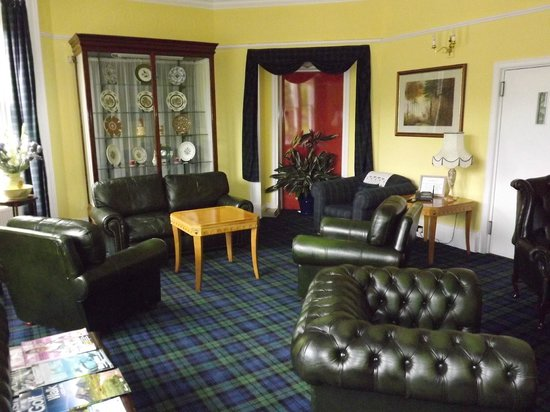 Strathness House: The down stairs lounge