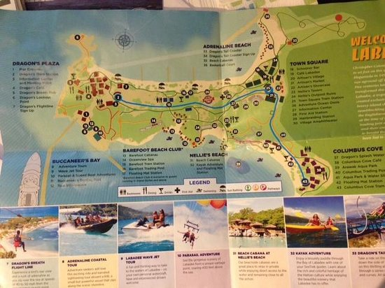 map of labadee picture of labadee haiti tripadvisor
