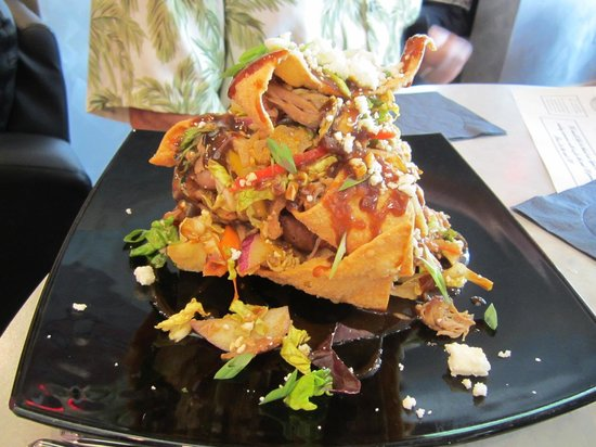 "Iven's on the Bay: This was a ""duck"" nacho appetizer.  It was delicious!!"