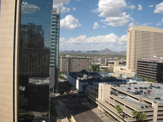 Renaissance Phoenix Downtown Hotel: View from my room