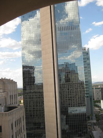 Renaissance Phoenix Downtown Hotel: View from the room