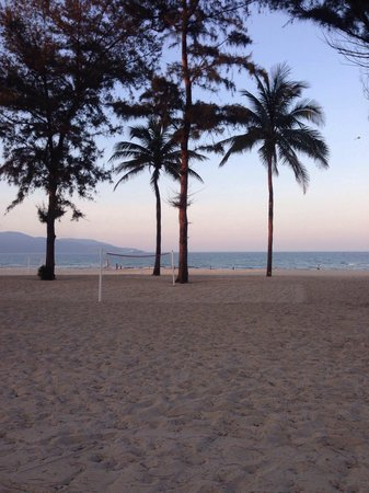 Pullman Danang Beach Resort: End of the day on the private beach