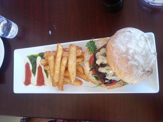 Mi Casa Spanish Restaurant: Hamburger