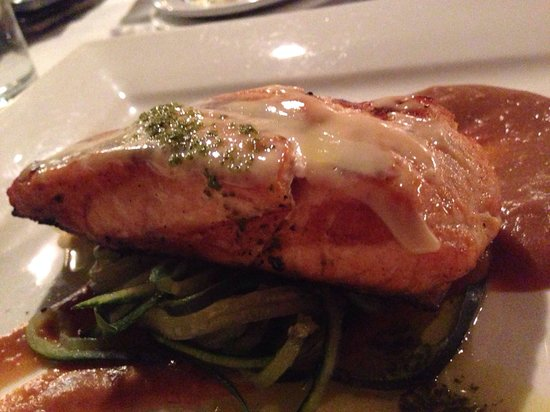 Devran's  Mediterranean: Salmon, main dish = so light and perfect