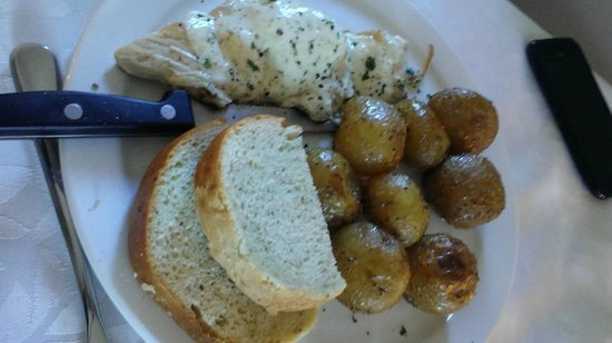 Gather Food & Beverage: Chicken in Basil/Parmesan Cream Sauce