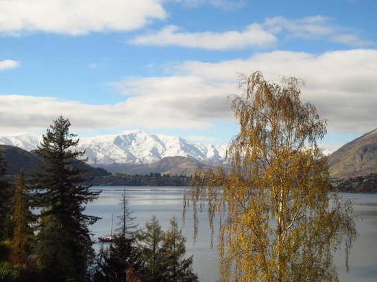 Villa Del Lago: View from the villas in winter