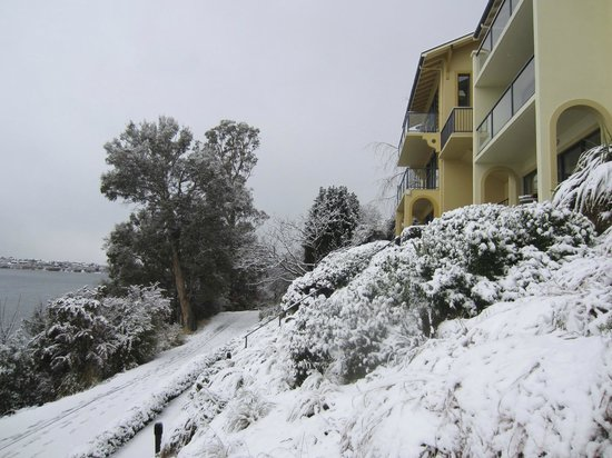 Villa Del Lago: Villas in winter