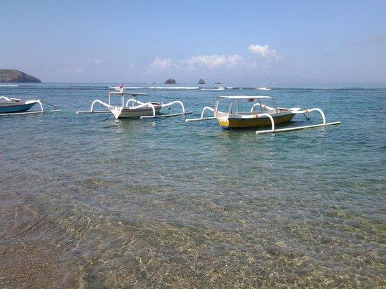 Bali Shangrila Beach Club: Lovely beach