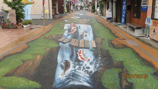 Showano Machi : 中町商店街トリックアート