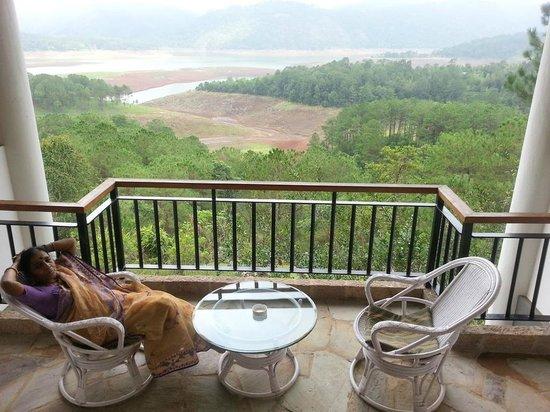 Ri Kynjai: View from room balcony