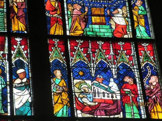 Liebfrauenmünster zu Straßburg (Cathédrale Notre-Dame de Strasbourg): ステンドグラス