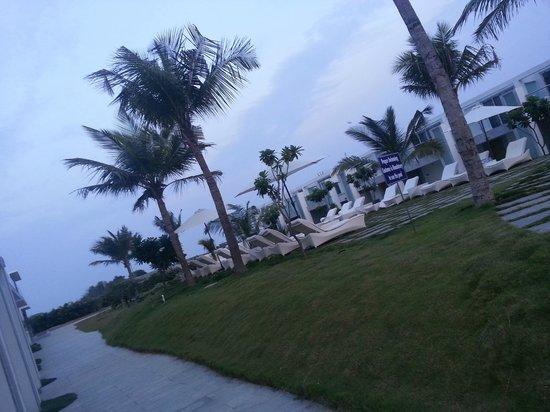 Grande Bay Resort and Spa : Lawn