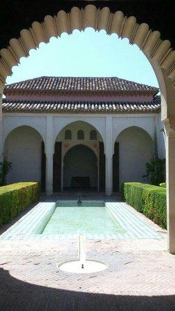 Alcazaba (fort) : Im Nacridenpalast