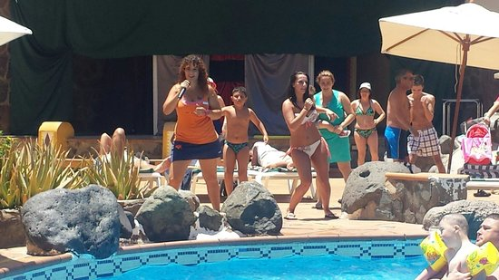 IFA Buenaventura Hotel : animación piscina