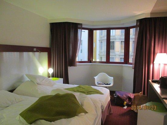 Mercure Strasbourg Centre: 広くて快適な部屋