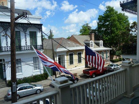 La Maison Marigny B&B on Bourbon: Balcony view