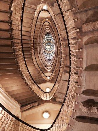 Hotel Bristol Palace : La scala
