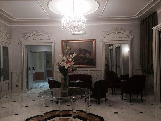 Hotel Bristol Palace : La sala d'attesa