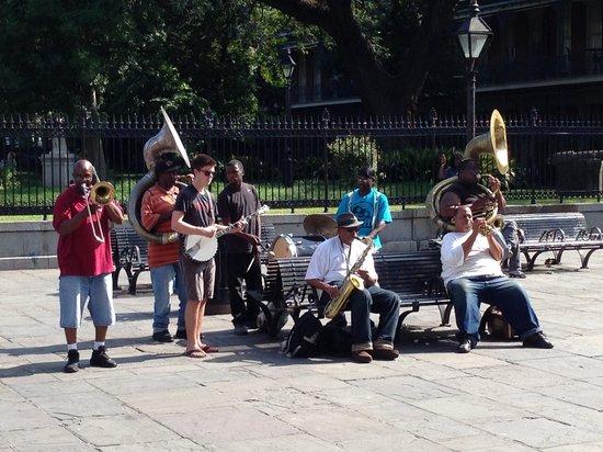 New Orleans Marriott : French Quarter - Jackson Square