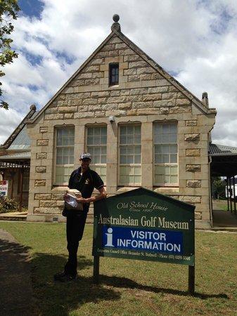 Bothwell, ออสเตรเลีย: Музей Гольфа
