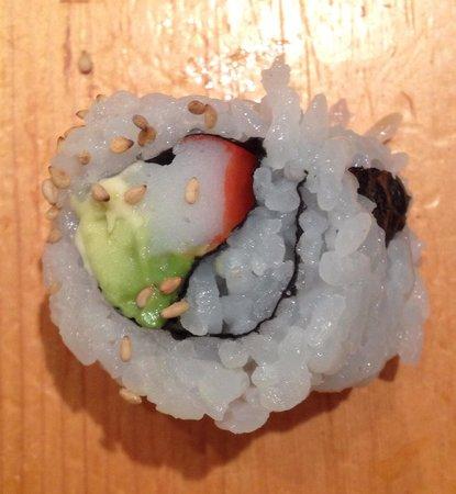 Oka Sushi: California Roll