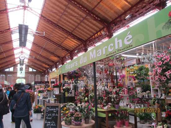 Marché Couvert: マルシェのお店その1