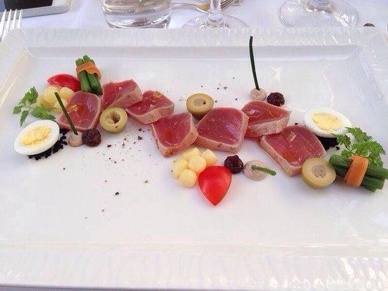 Landhaus Hotel Waitz: Tunfisch
